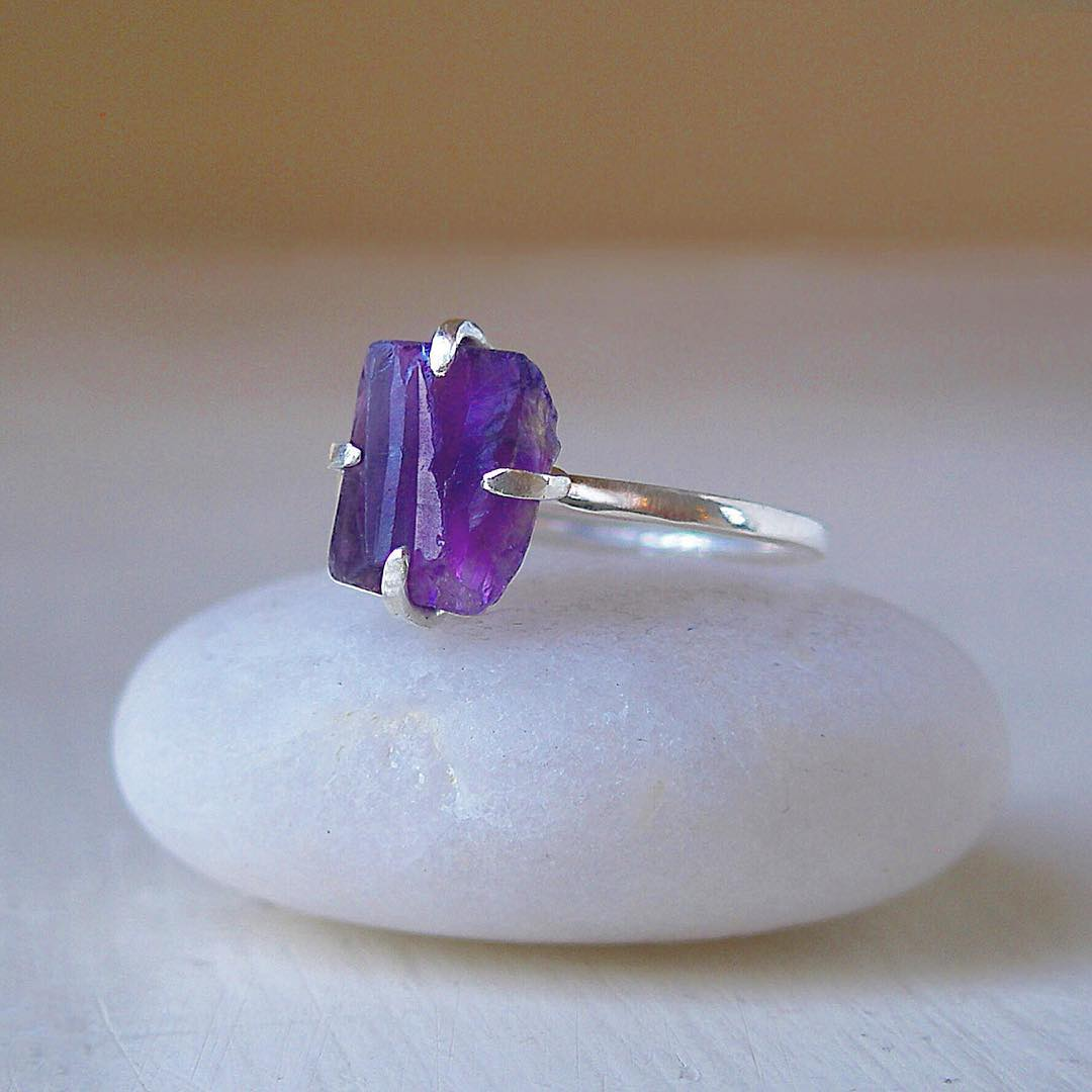 super cute purple ring