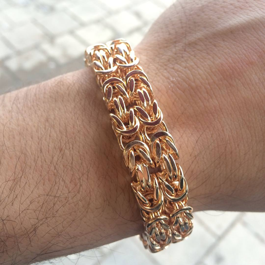 23 Men Gold Bracelet Designs Ideas Design Trends