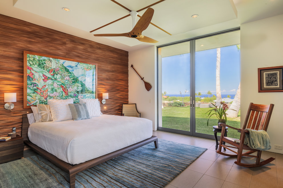 Awesome Tropical bedroom Design