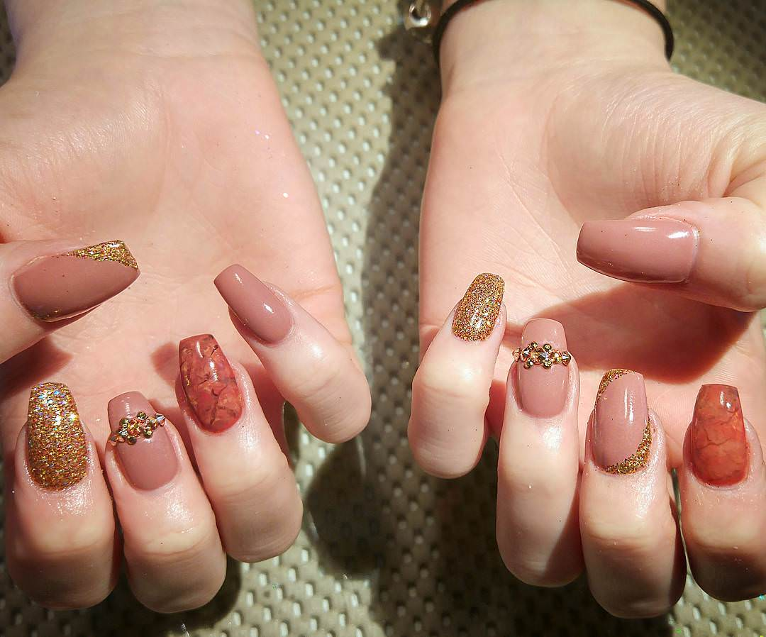 Attractive 3D Nail Art Nail Design