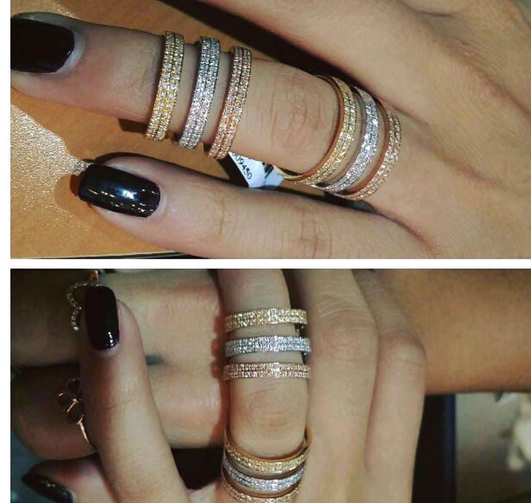 Lovely Diamond Rings
