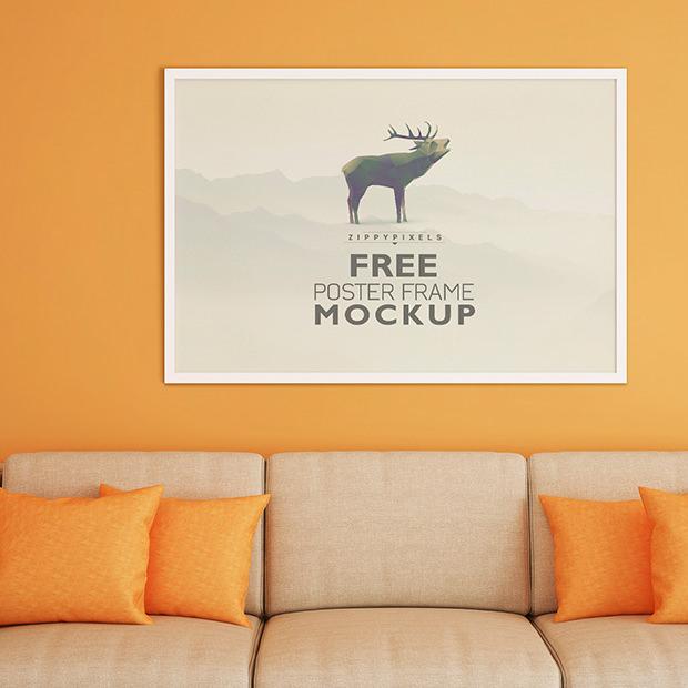 20+ Frame Mockups - PSD Download