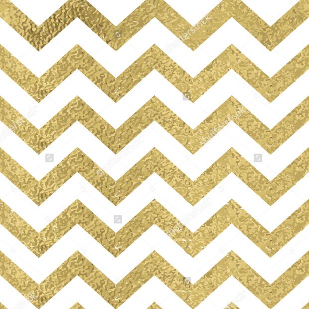 zigzag gold glitter pattern