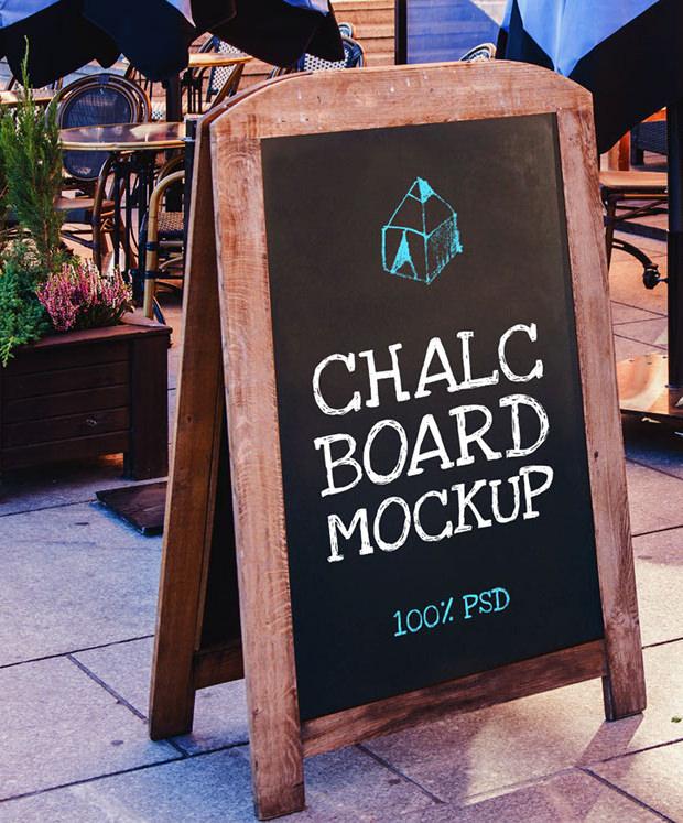 chalkboard framemockup