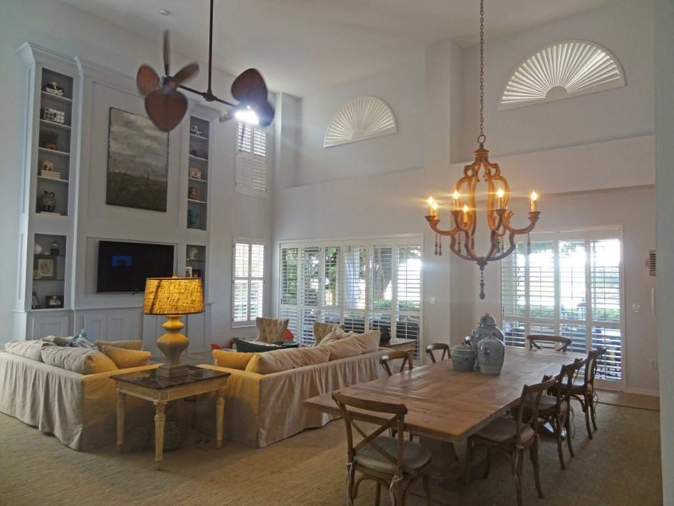 elegant transitional living wooden chandelier