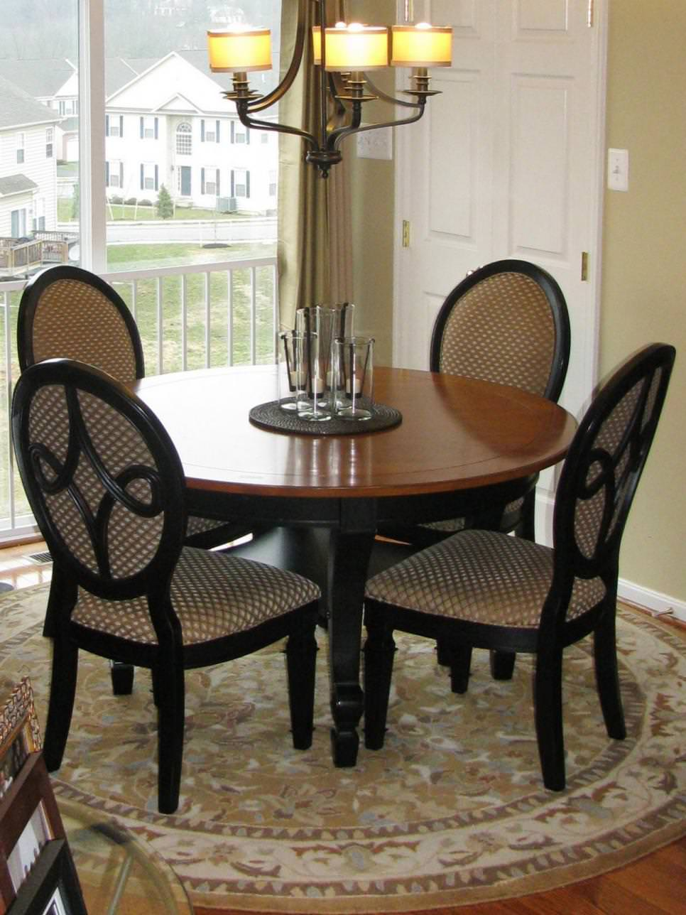 Small Wood Dining Table Design
