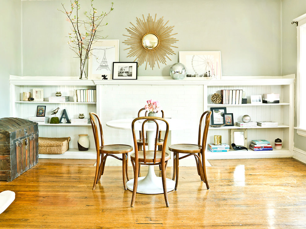 Eclectic Small Dining Table Design