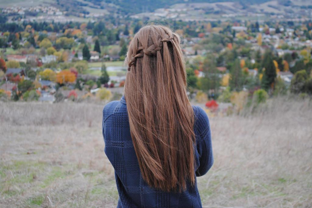 long waterfall braid
