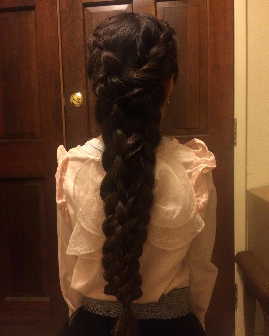 pretty multiple braids
