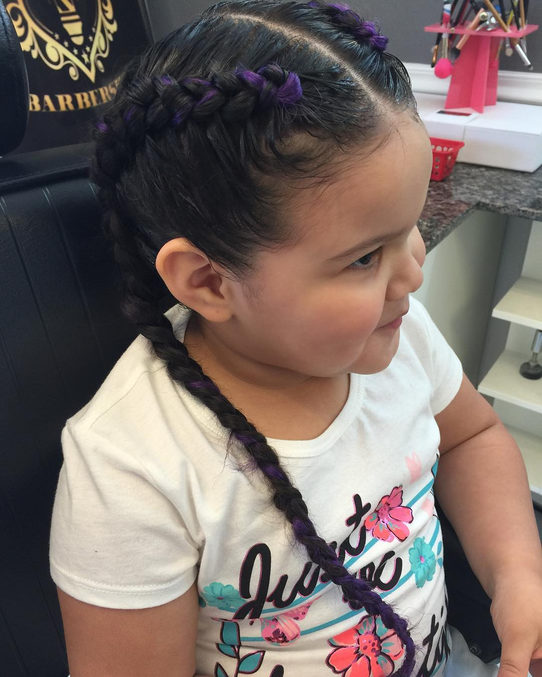 Cute Braid Style for Kids