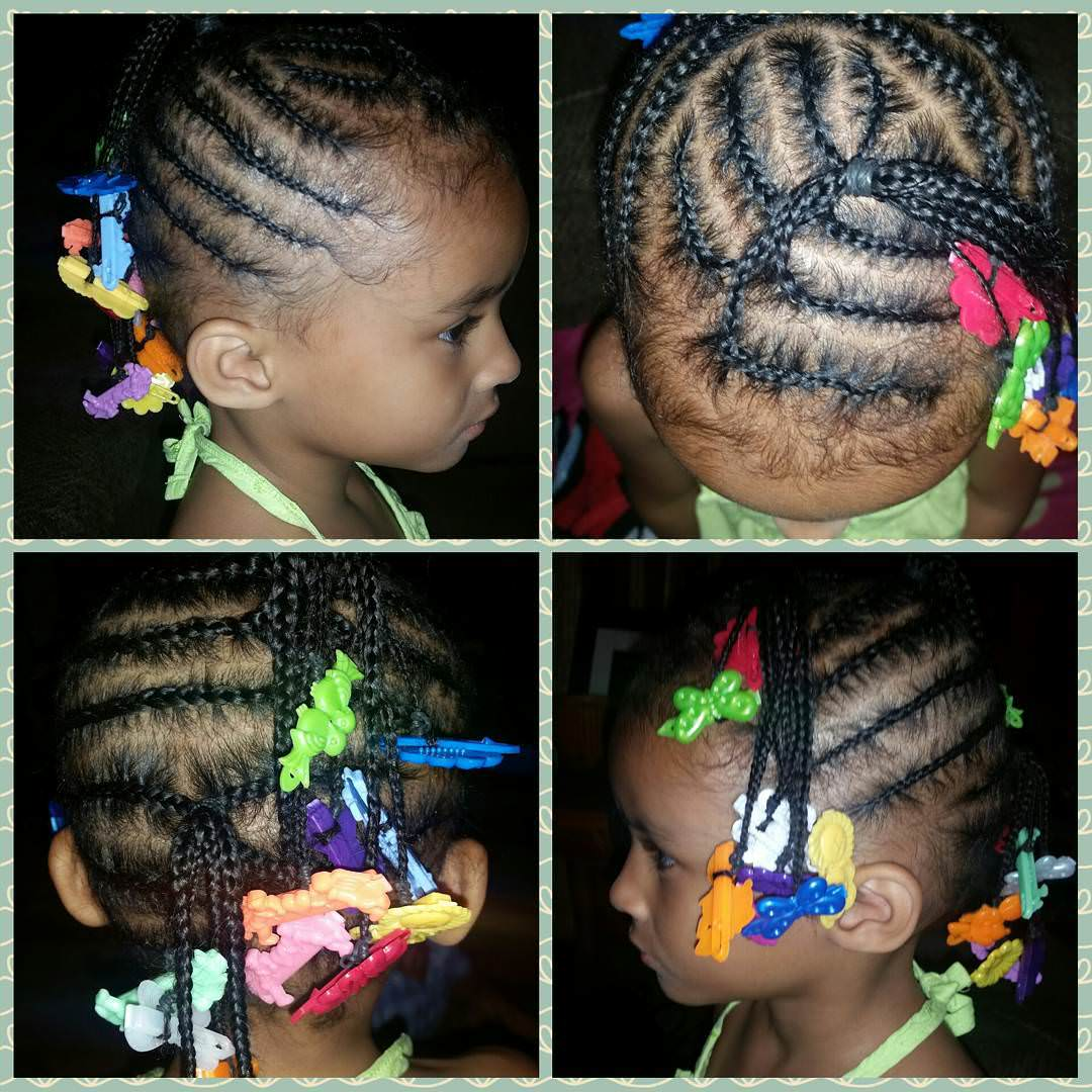 Beautiful Braid Hairstyle for Kids