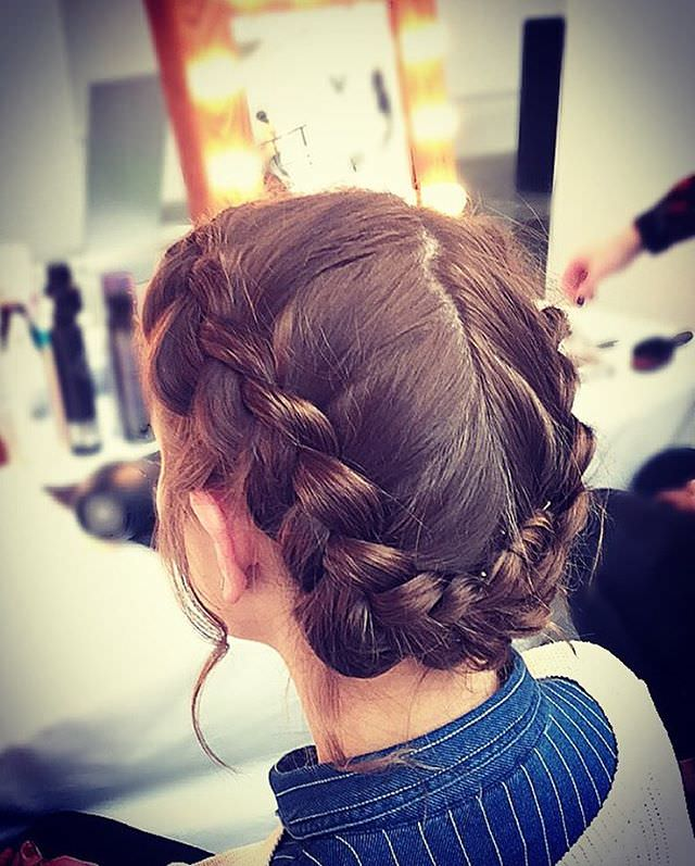 Attractive Braid Hairstyle for Kids