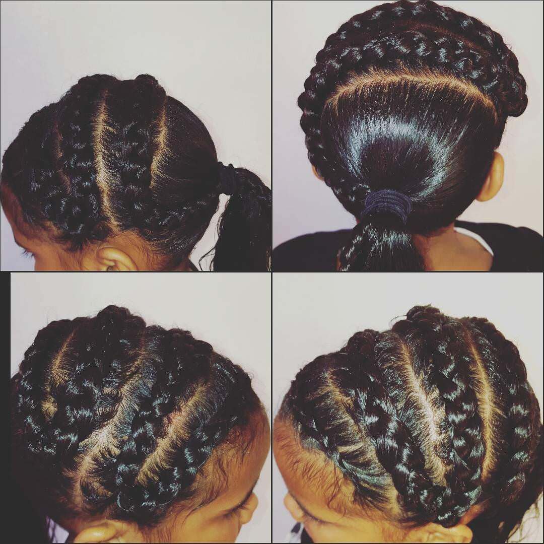 Excellent 20 Braid Hairstyles For Kids Ideas Designs Design Trends Short Hairstyles Gunalazisus