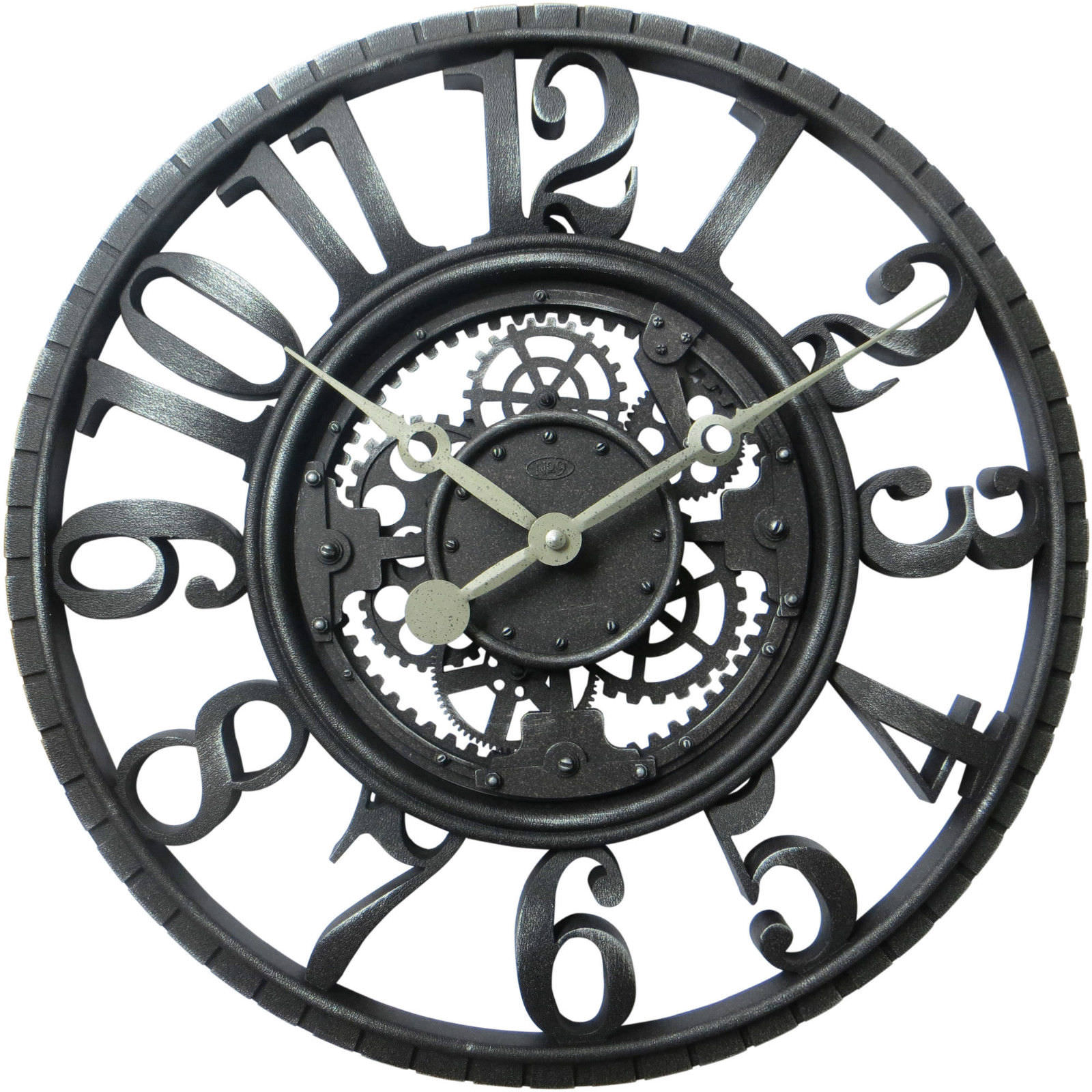 25 Industrial Wall Clock Designs Ideas Design Trends