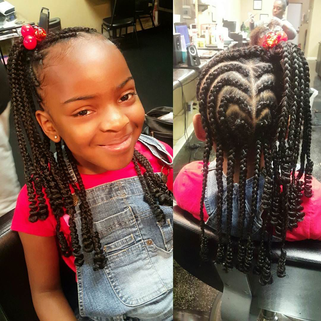 20 braid hairstyles for kids ideas designs design trends awesome braid style for kids urmus Image collections