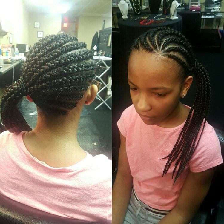 Modern Braid Style for Kids
