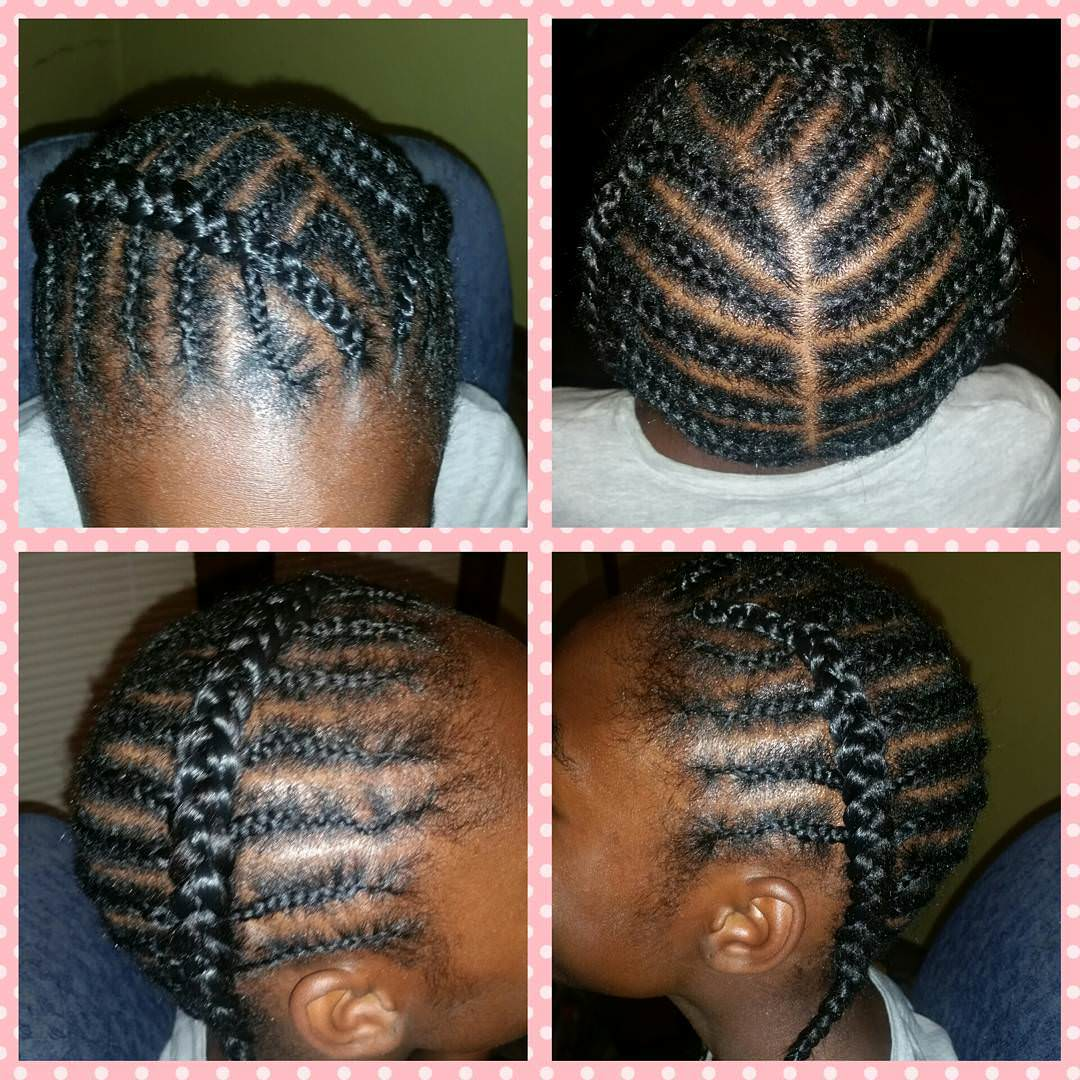 Modern- Braid Style for Kids