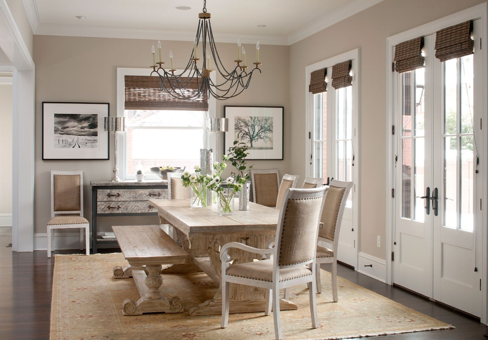 Rustic Dining Room Chandler