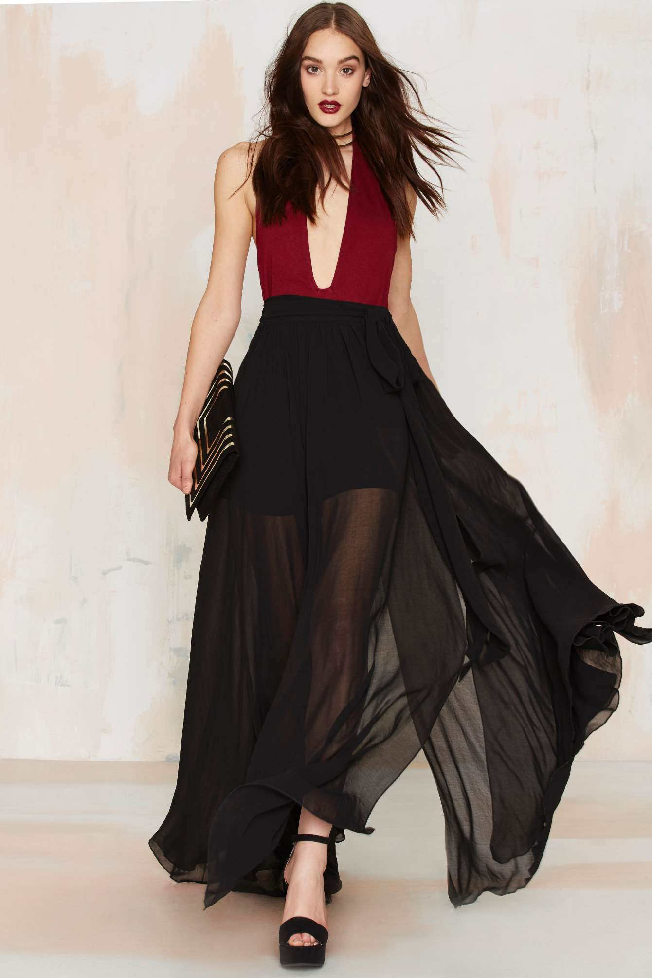 Valentino Wrap Skirt