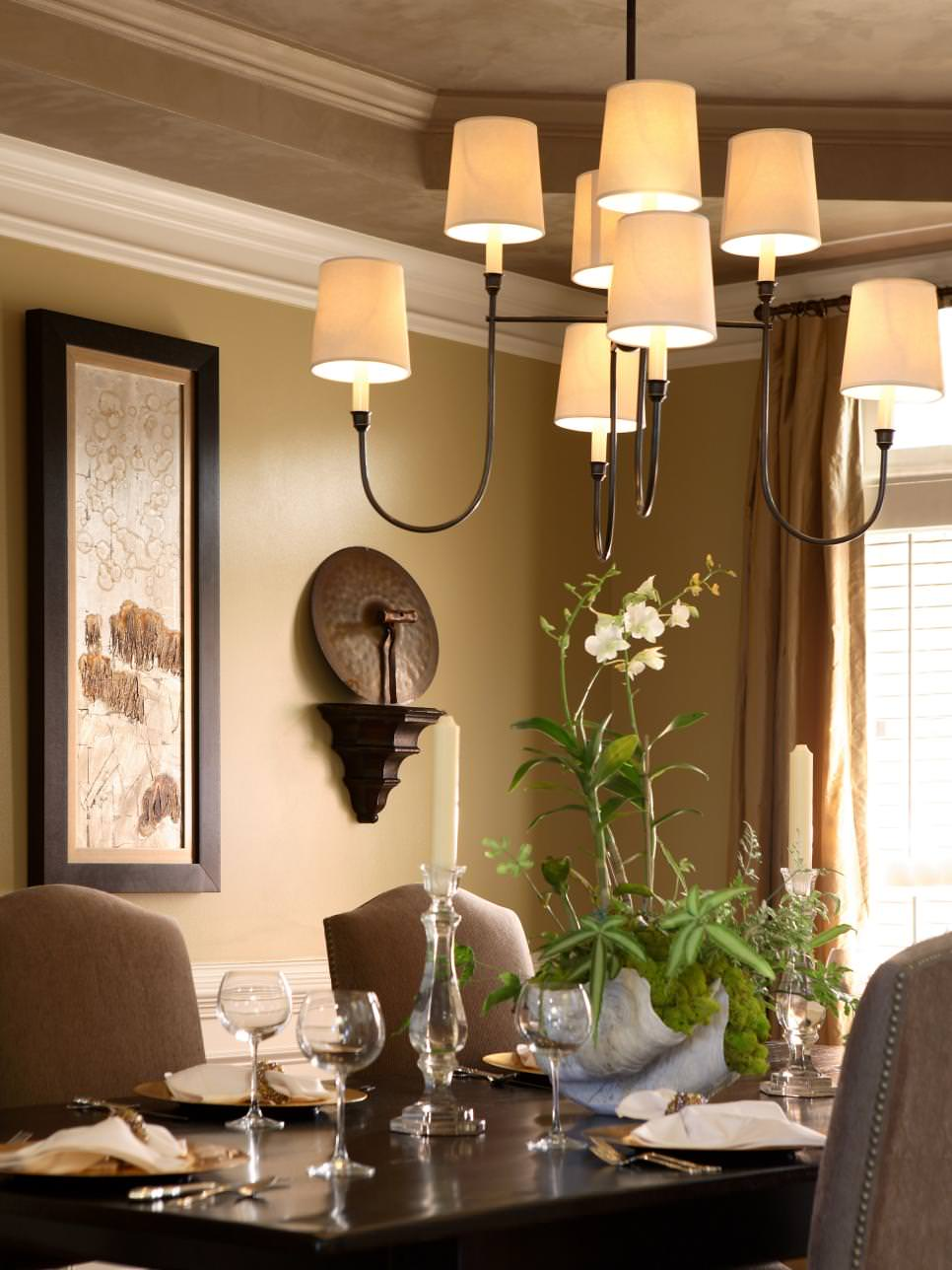 Glistering Dining Room Chandelier