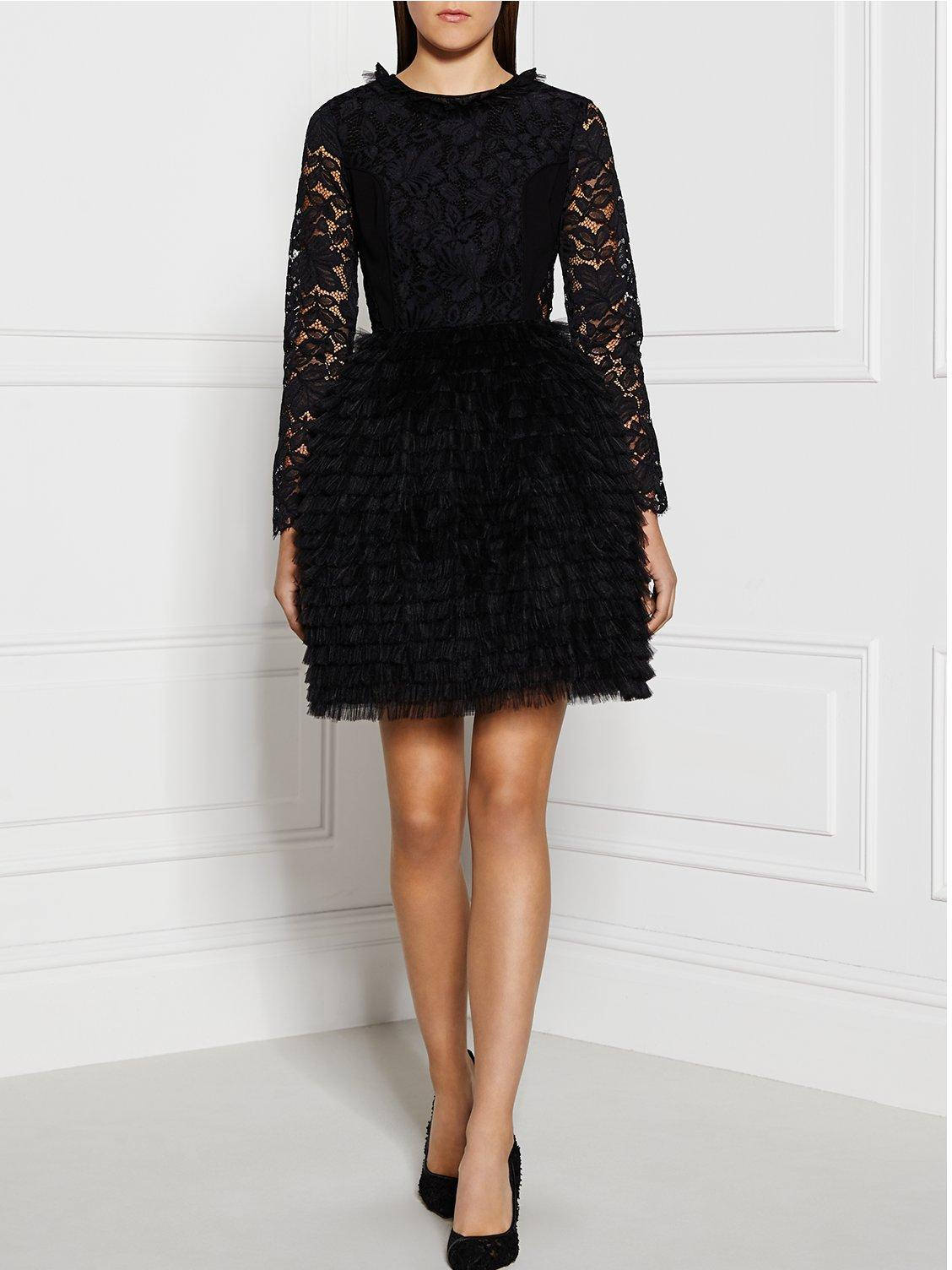 Marcjacobs Black Lace Dress