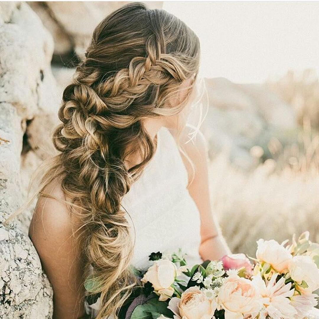30 Beach Wedding Hairstyles Ideas Designs: 26+Awesome Braided Hairstyle For Girls