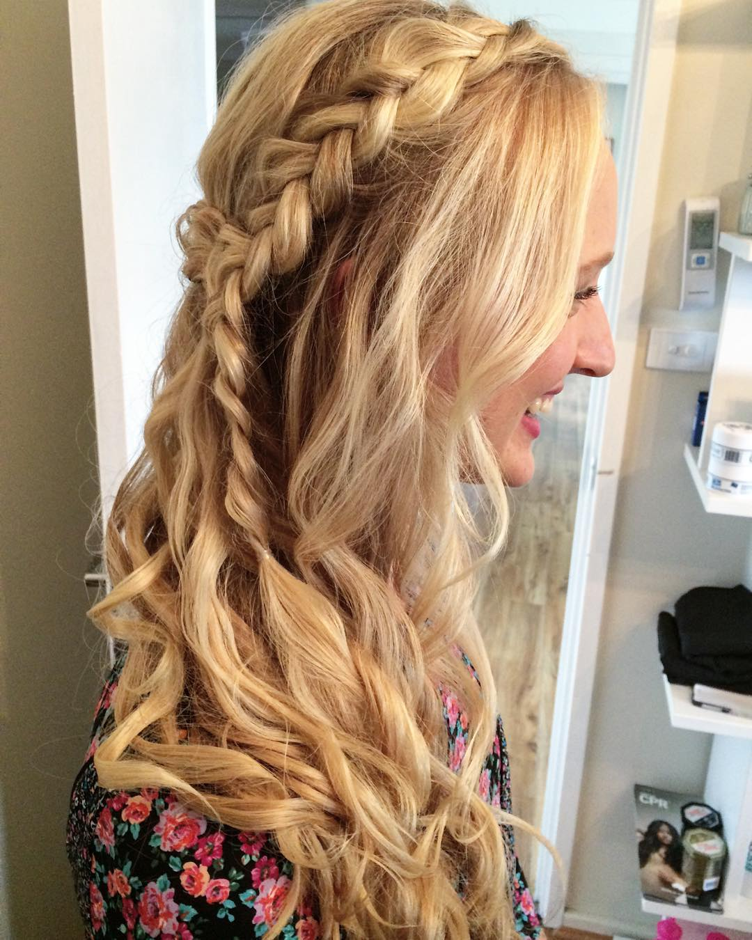 Beautiful Braided Hairstyle for Girl