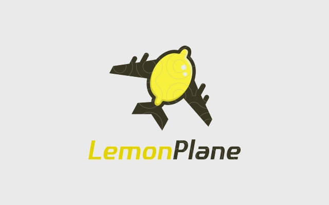 lemon logo for airline