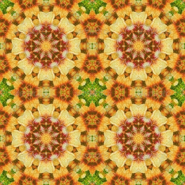 Seamless Floral Design Pattern