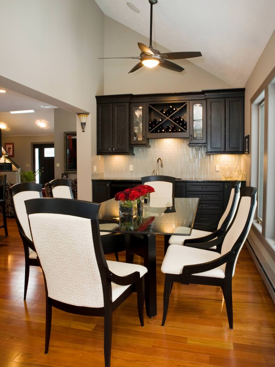 24+ Black and White Dining Room Designs | Dining Room ...