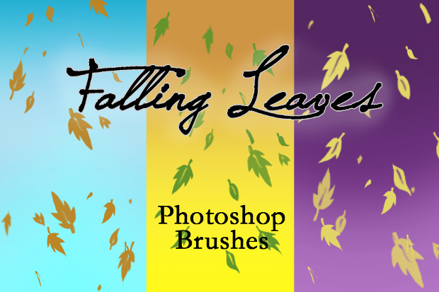 Amazing Fall Leaves brushes