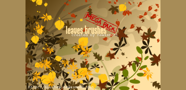 New Kind of Fall Leaves brushes