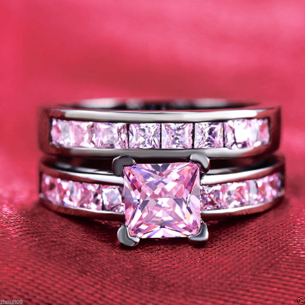 29+ Pink and Black Wedding Rings | Ring Designs | Design Trends ...