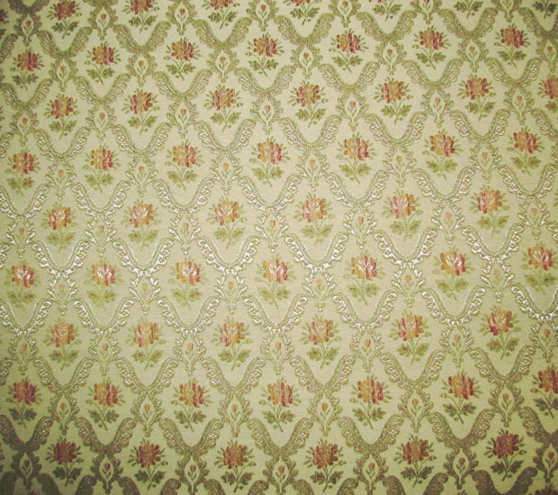 Floral Vintage Fabric Pattern
