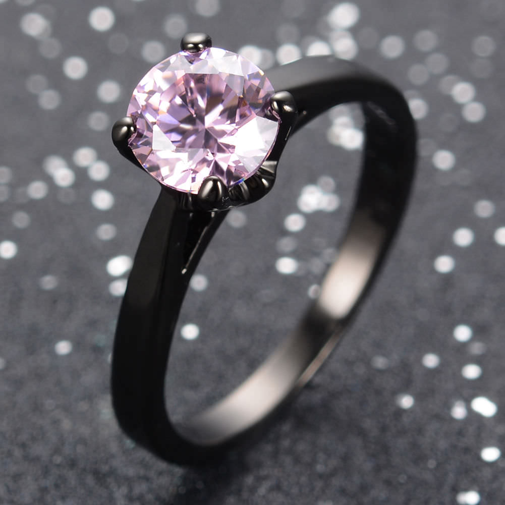 Black And Pink Wedding Rings: 29+ Pink And Black Wedding Rings