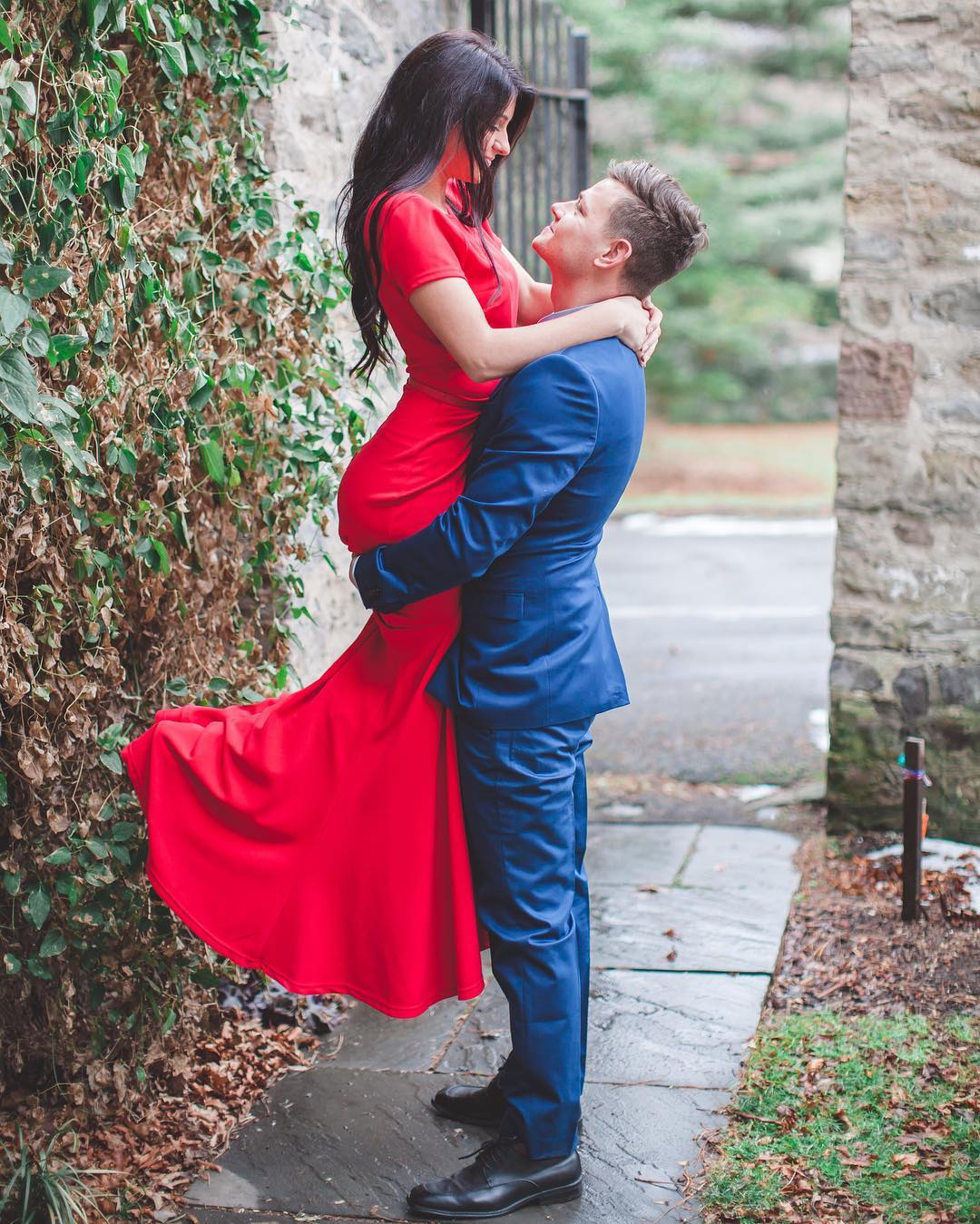 Awesome Red-Wedding Dress