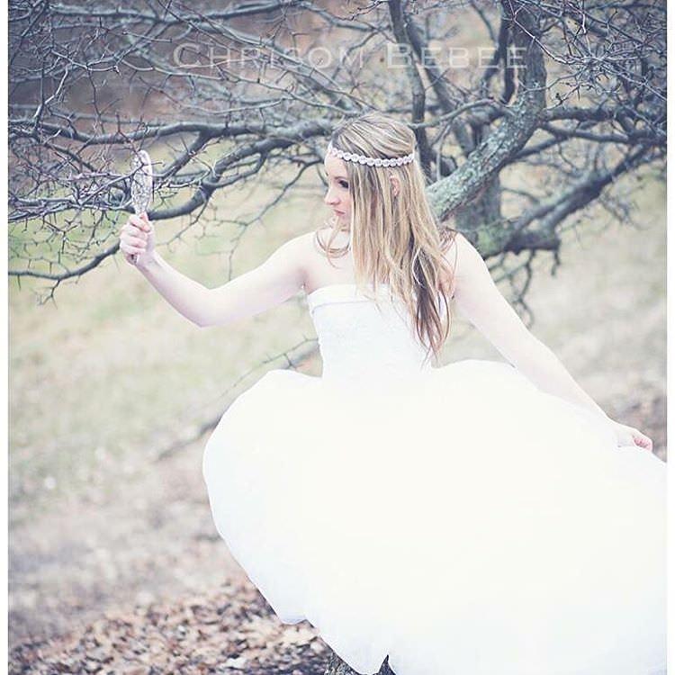 Classy Fantasy Wedding Dress