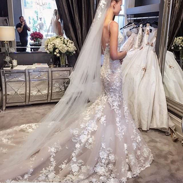 Flower Fantasy Wedding Dress