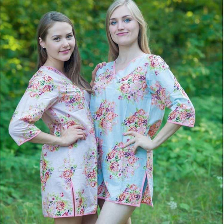 Floral Beach Tunics