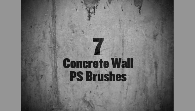 7 concrete wall brushes