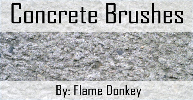 Cool Concrete Photoshop Brushes