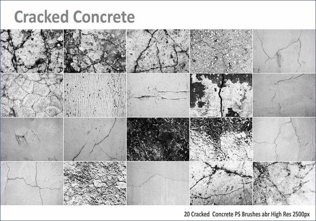Latest Cracked Concrete Brushes