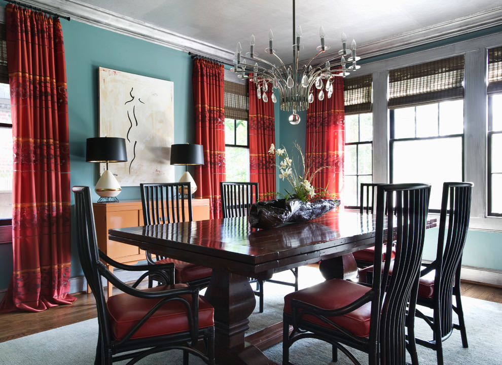 25 blue dining room designs decorating ideas design for Dining room design trends