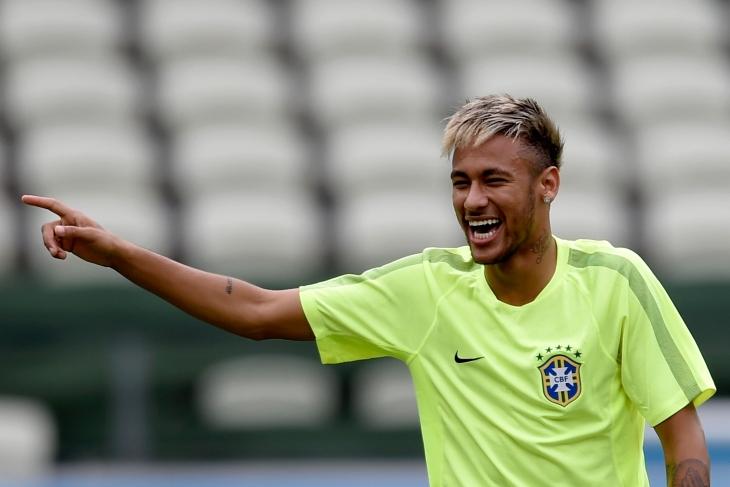 Neymar Blonde Hair