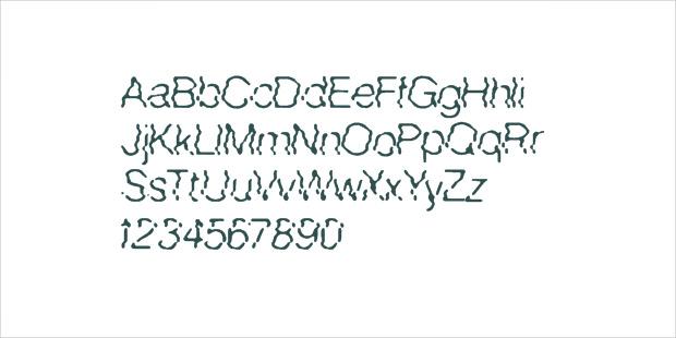 standard wave font