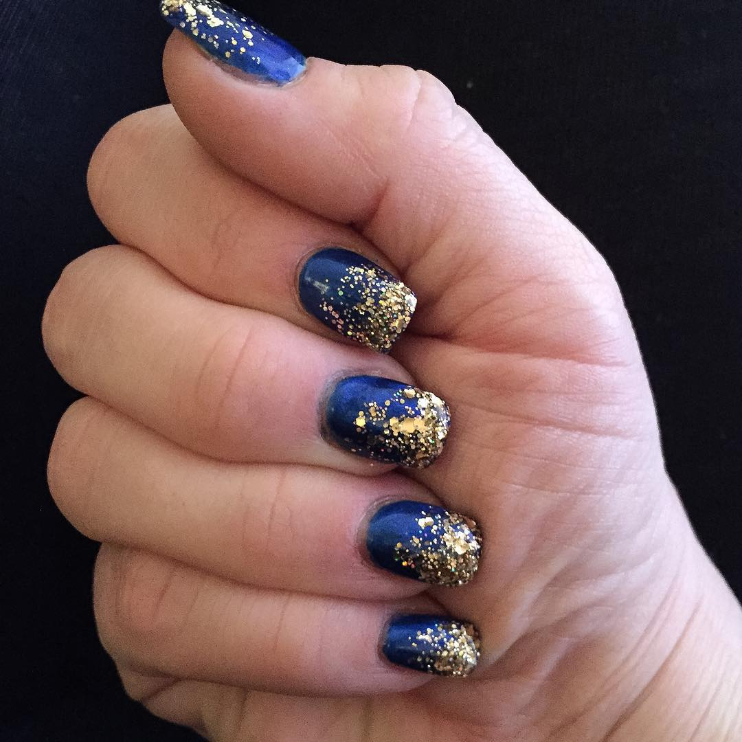 25 Dark Blue Nail Art Designs Ideas Design Trends Premium Psd
