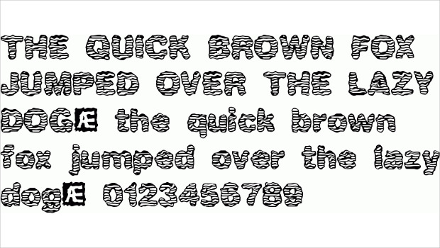 elegant waver font