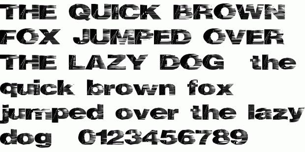 heat wave font