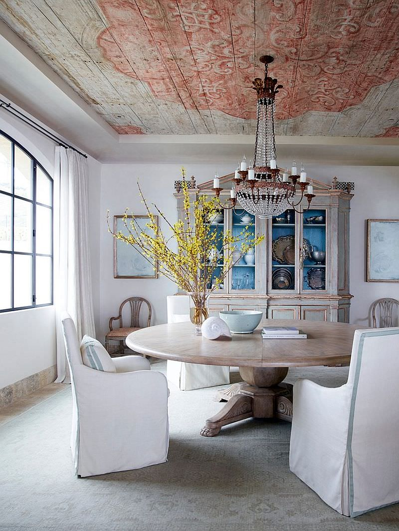 expectional shabby chic dining room