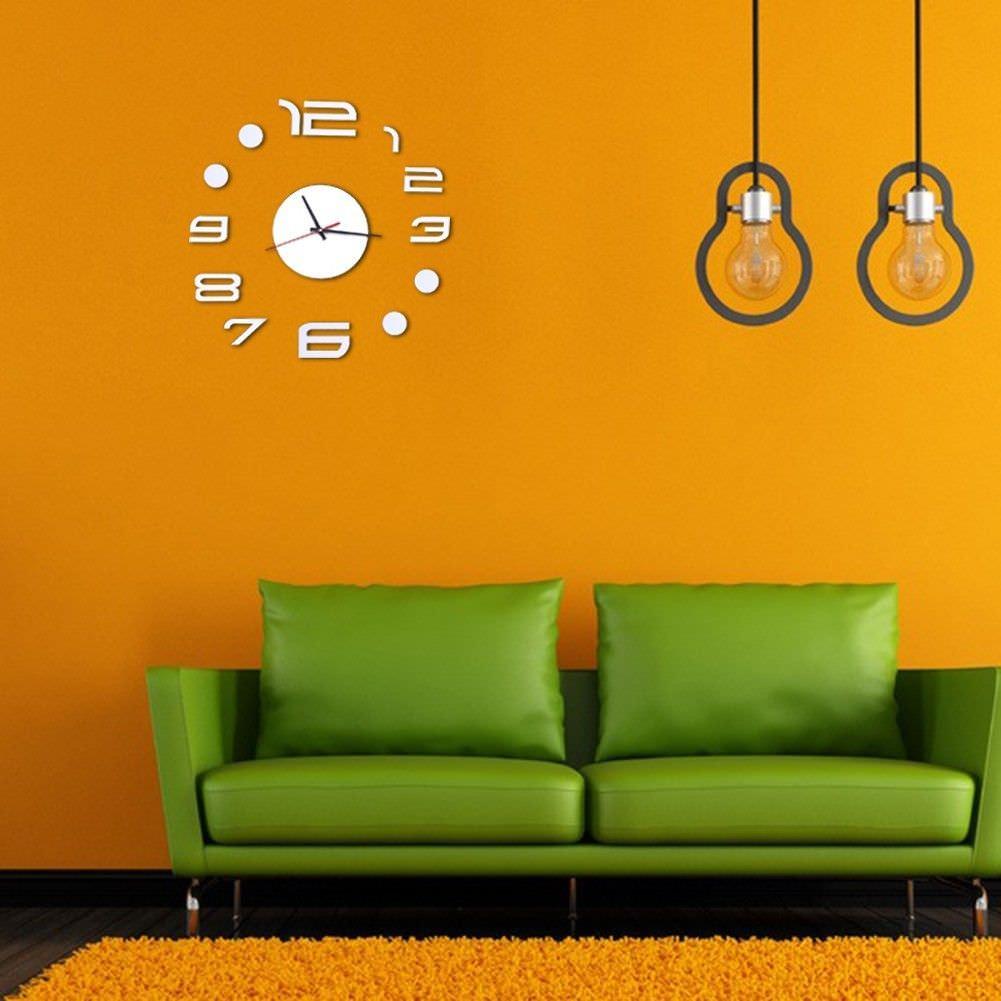 simple modern wall clock design blank wall clock frei